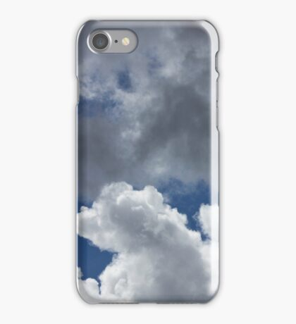 The sky is low, the clouds are mean, iPhone Case/Skin