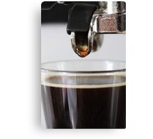 Espresso close up Canvas Print