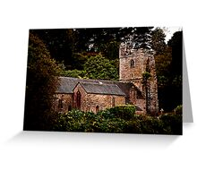 St Just in Roseland Greeting Card