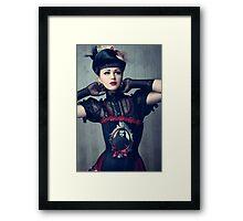 Dark Doll Framed Print
