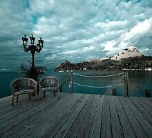 Saint-Lucie pier by Denis Charbonnier
