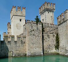 Scaligero Castle, Sirmione, Italy by pljvv