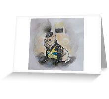 Happy Valley Dog Detective Greeting Card