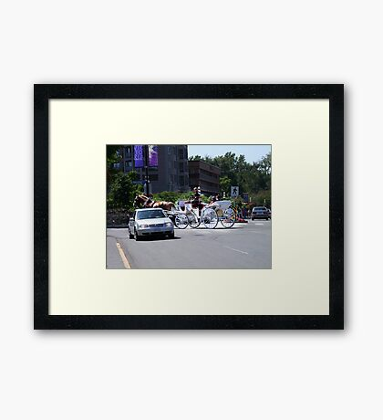Fashions in Transport Framed Print