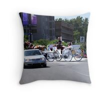 Fashions in Transport Throw Pillow