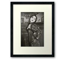 30s Glam Framed Print