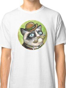 Dapper Grumpy Cat Classic T-Shirt