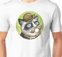 Dapper Grumpy Cat Unisex T-Shirt