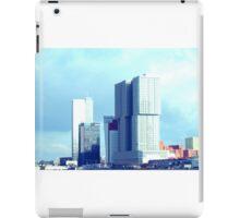 Erasmusbrug and Rotterdam Skyline iPad Case/Skin