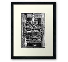 Mill Grinder Framed Print