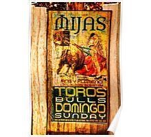 Toros, Mijas Poster