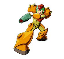 Mega Man X Varia Suit Photographic Print