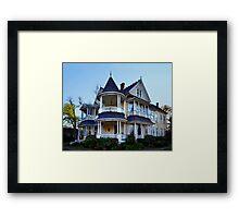 Northcutt House, Longview, Texas Framed Print