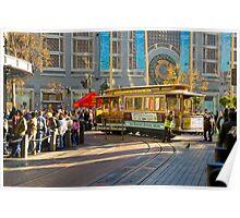 San Fransisco Trolley 2 Poster