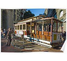 San Fransisco Trolley 3 Poster