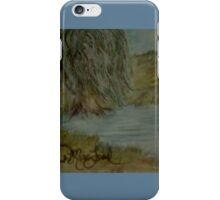 Willow Pond Oil Pastel iPhone Case/Skin