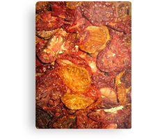 Dried Tomatoes Metal Print