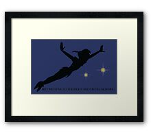 Second Star to the Right Framed Print