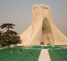 Tehran, Iran by Christopher Herwig