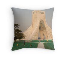 Tehran, Iran Throw Pillow