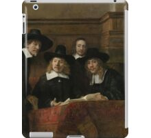 Painting - The Wardens of the Amsterdam Drapers' Guild, Known as 'The Syndics', Rembrandt Harmensz. van Rijn, 1662 iPad Case/Skin