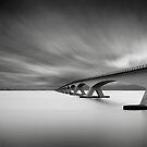 Bridge Study I by Joel Tjintjelaar