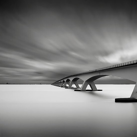 Bridge Study I by Joel Tjintjelaar