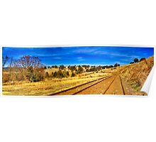 Carcoar to Cowra rail link Poster