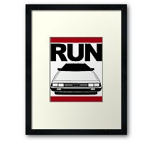 Run DMC - Car / Music Joke Framed Print