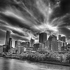 Melbourne City in Mono Vision by Hany  Kamel