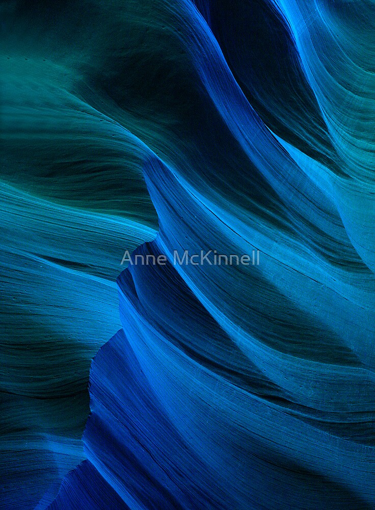 Blue Canyon by Anne McKinnell