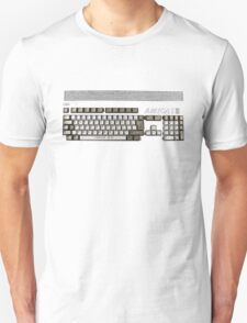 Classic 80's Keyboard Design Unisex T-Shirt