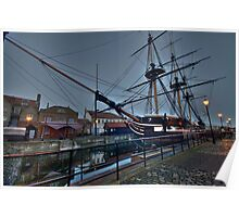 The Tall Ship Poster