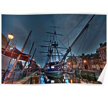 HMS Trincomalee Poster