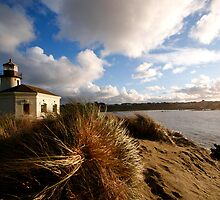 Coquille River Lighthouse by Sherrie Chavez