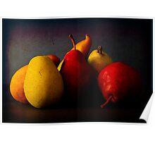 Stilllife - Pears Poster