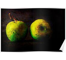 Stilllife - Apples Poster