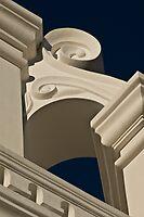 San Xavier Mission Reno Detail by Linda Gregory