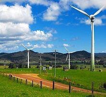 Windy Hill Wind Farm - Ravenshoe, Queensland by Forto