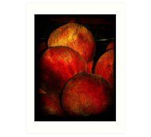 Stilllife-Nectarines Art Print