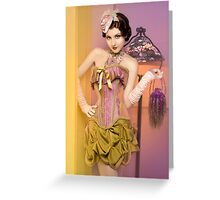 30s Glam III Greeting Card
