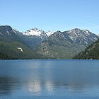 Scenic Lake Como And Como Mountains -Montana by JaneLoughney