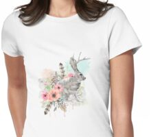 Jackalope Womens Fitted T-Shirt
