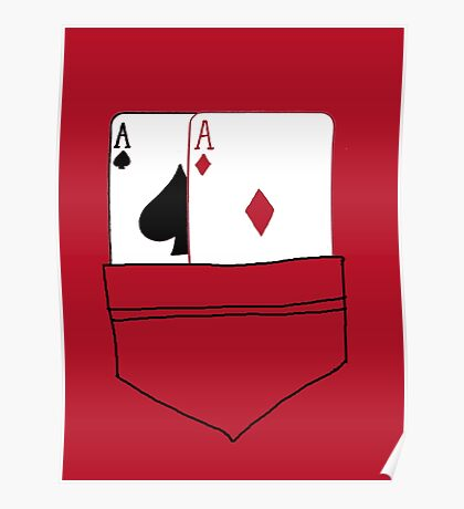 Pocket Aces Poster