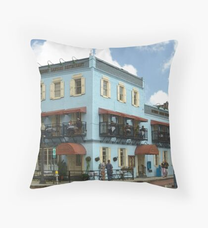Historical City Throw Pillow