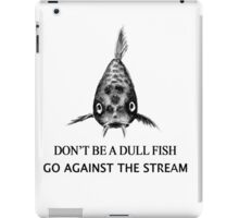 Koi Fish Pattern & Slogan iPad Case/Skin