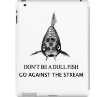 Koi Fish Pattern & Slogan iPad Case/Skin