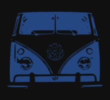 VW Kombi - Blue Kids Tee