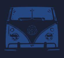 VW Kombi - Blue Kids Tee