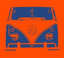 Blue VW Kombi Kids Clothes